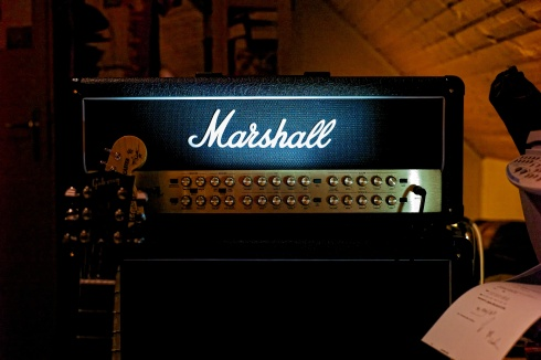 Spotlight on my new Marshall JVM410H